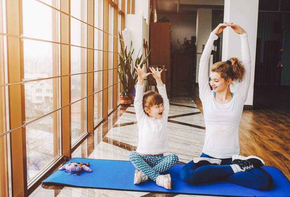 energia yoga bambino piccolo