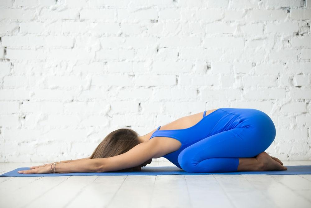 Posizioni Yoga Posizione del bambino