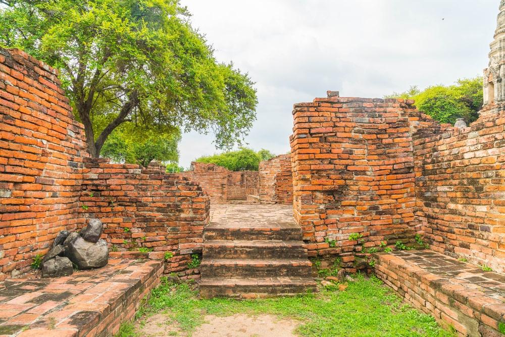 rovine regno budda