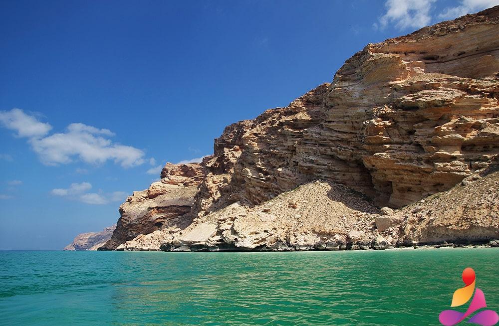 sfondo di mare greco