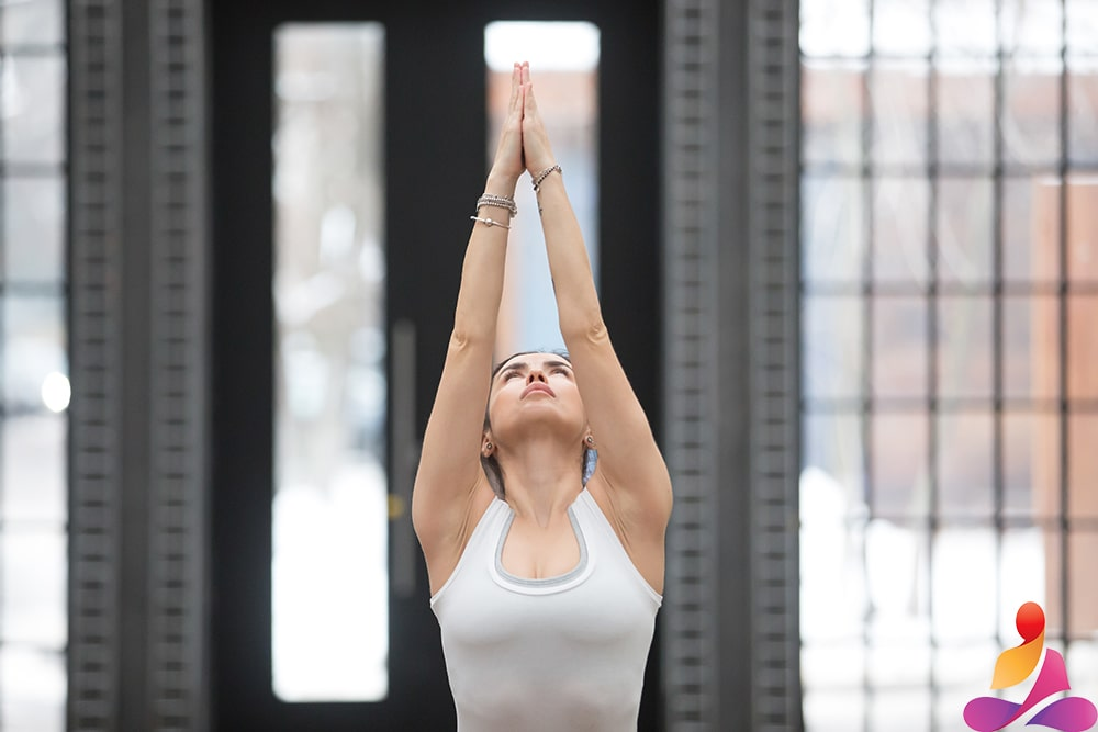 Posizione Tadasana Yoga