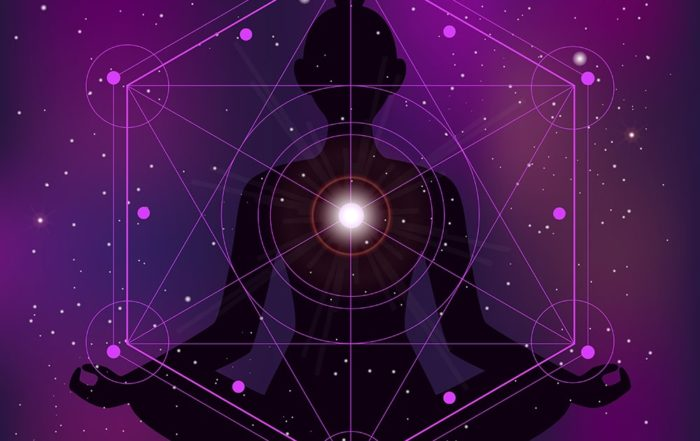 Meditazione Merkaba simboli geometria sacra