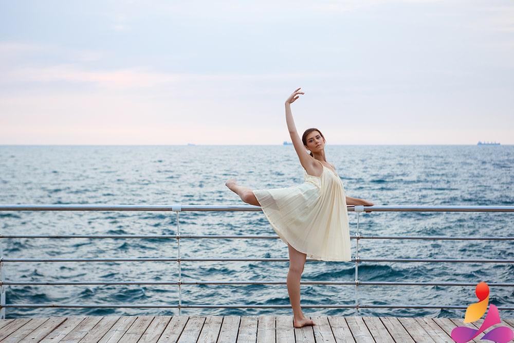 ballerina in danza libera