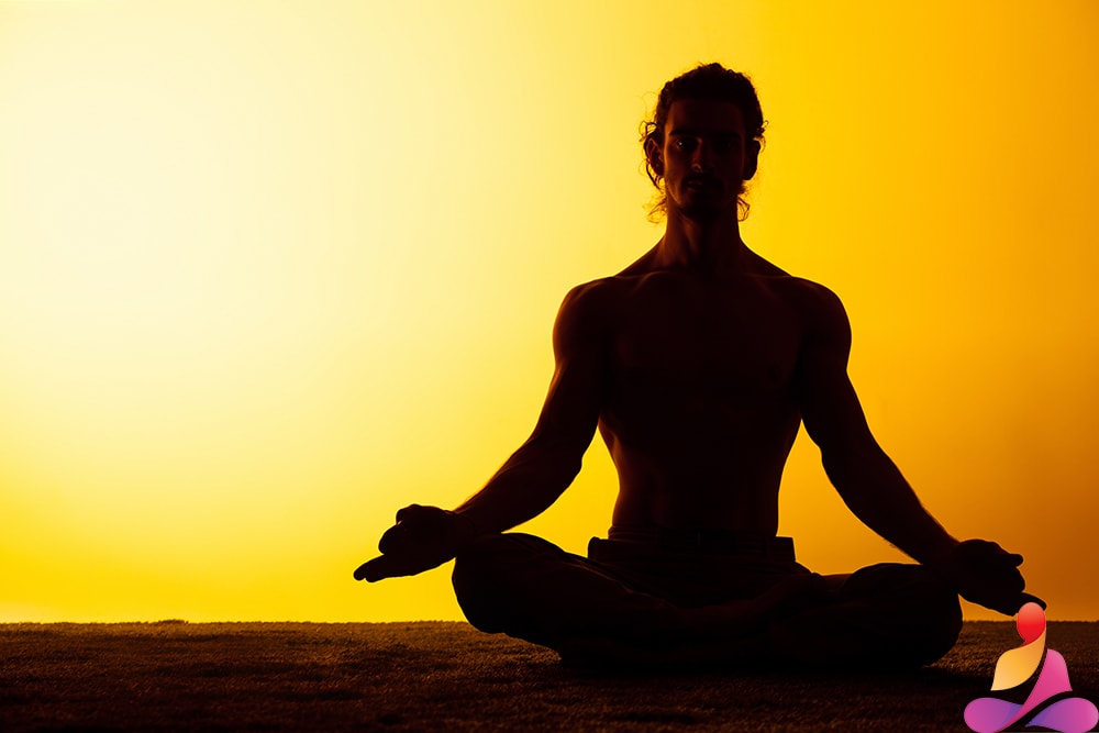 cuscino meditazione mezzaluna