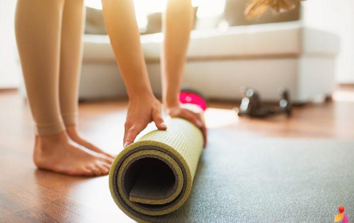 tappetini yoga professionali