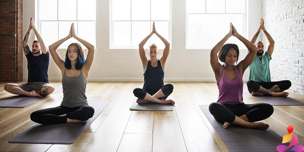 tappetini yoga professionali in tpe